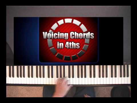 Voicing Piano Chords in 4ths