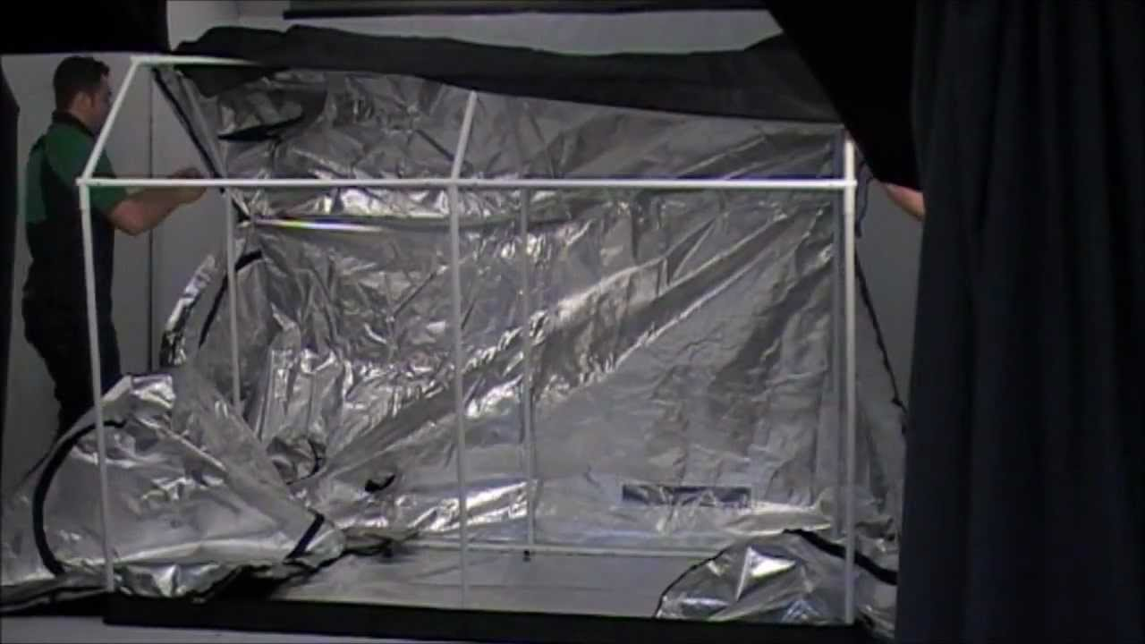 OLD_How to Assemble the Roof-Qube 1224 [RQ1224] Grow Tent (2012) & OLD_How to Assemble the Roof-Qube 1224 [RQ1224] Grow Tent (2012 ...