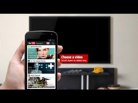 Reproduce Videos De Youtube En Tu Tv Enviandolo Desde Tu Smartphone Youtube