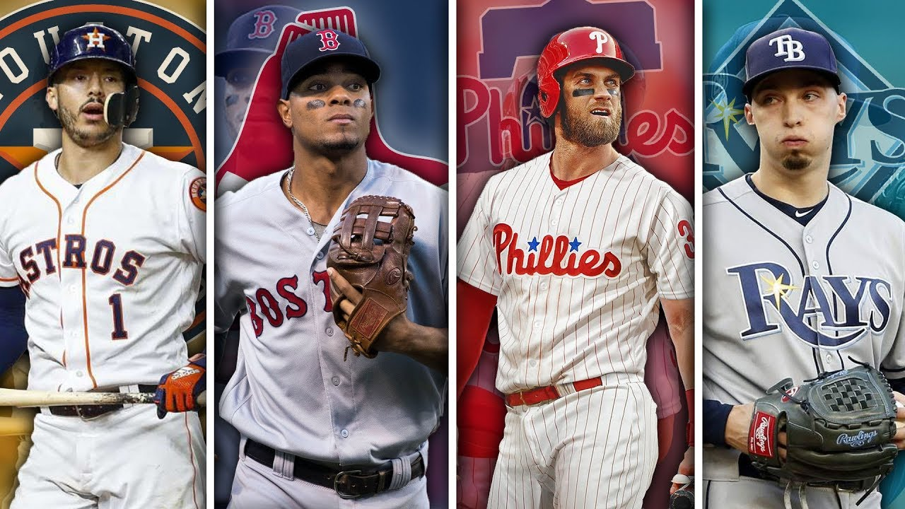 quality design c3ad4 a2be7 BEST MLB PLAYER FROM EACH JERSEY NUMBER