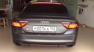 Audi Power - Daytona matte gray Audi RS7 😱👍