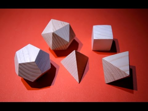 Polyhedrons from solid wood