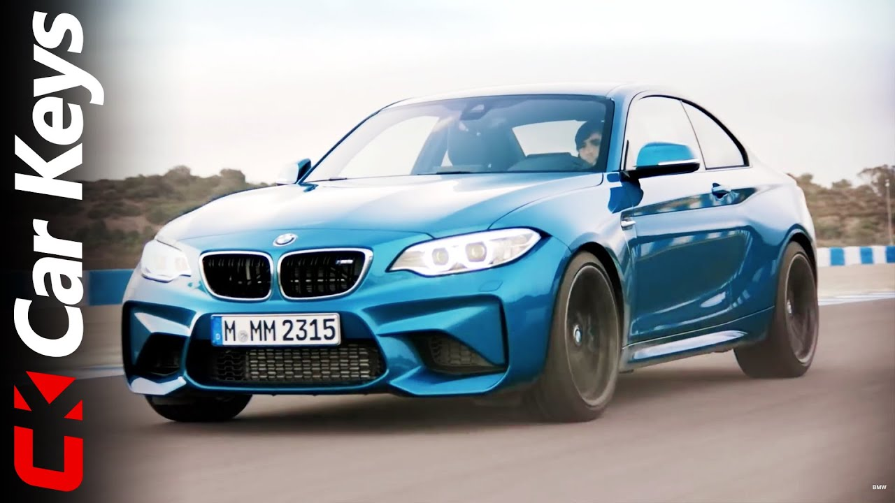 Watch The New Bmw M2 Obliterate A Race Track Youtube