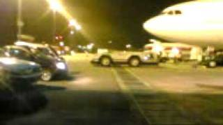 Padang suasana di dlm pesawat Garuda malam hari di Bim or inflight Garuda strecer case