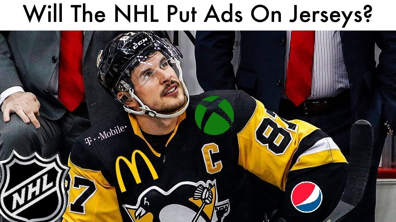 a49e094b076 Will The NHL Put Ads On Their Jerseys  - YouTube