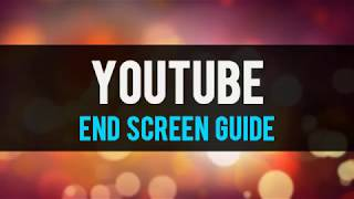 FREE Camtasia Youtube End Screen Guide Library Asset