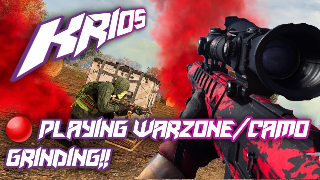 Its_Krios LIVE Callofduty MW #WarZone WITH friends LoL!! Chill Vibes Only