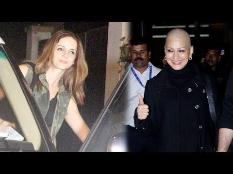 Hrithik Roshan Ex Wife Sussanne Meets Sonali Bendre