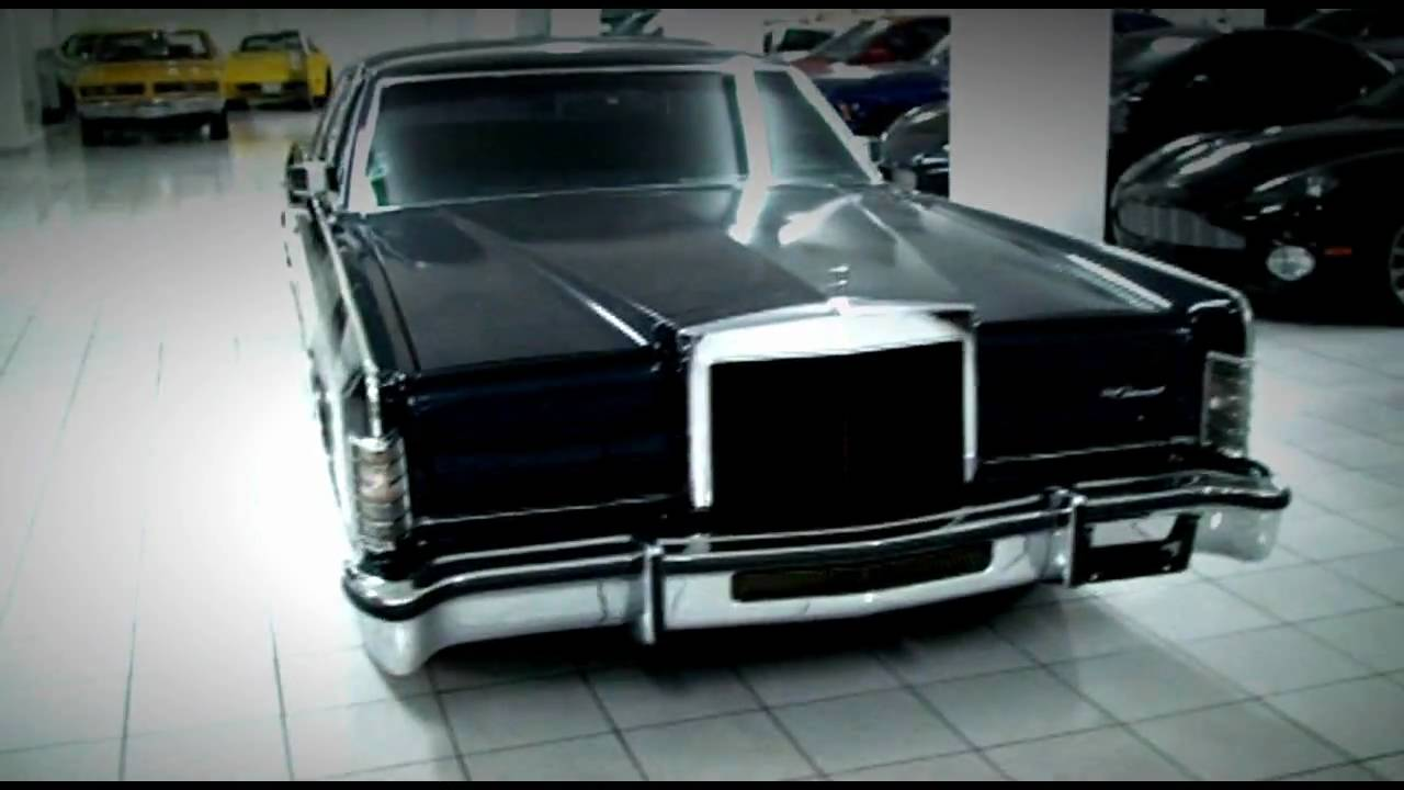My Car Collection 1979 Lincoln Continental Collector S Series Youtube