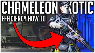 How to Efficiently Use the CHAMELEON EXOTIC Assault Rifle for MEGA DAMAGE! - The Division 2 Tips
