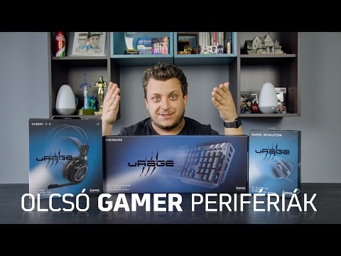 GAMER periféria 10-20 ezer Ft között! | Hama uRage (2017)