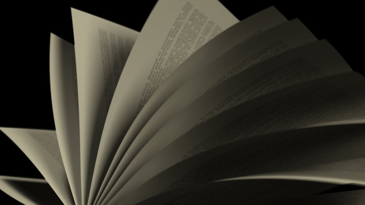 turning over pages in a book - Book Pages