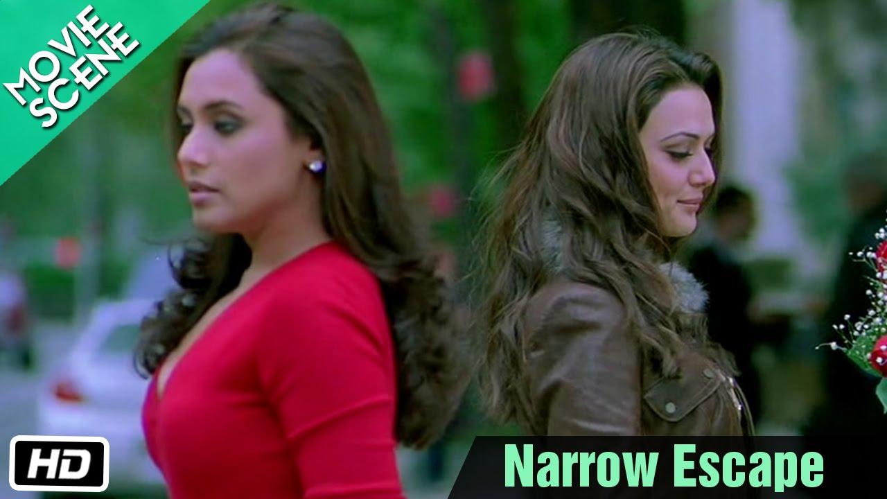 Download Narrow Escape - Movie Scene - Kabhi Alvida Naa Kehna - Shahrukh, Rani, Preity