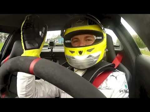 Nico Rosberg, Michael Schumacher, Bernd Schneider Nordschleife AMG Driving performance 2013