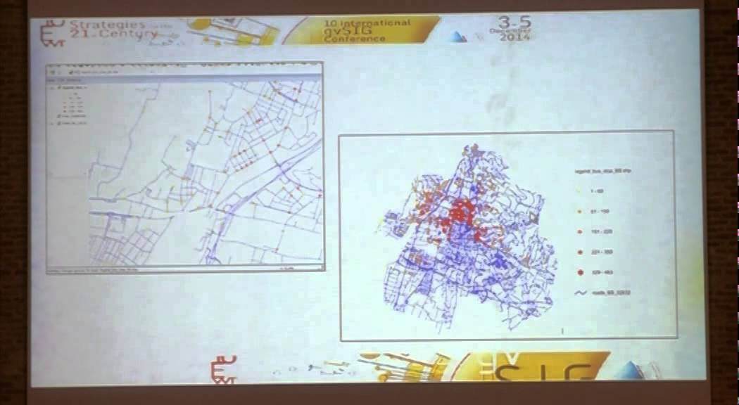 10th Int gvSIG Conference Assessing urban accessibility in Brescia