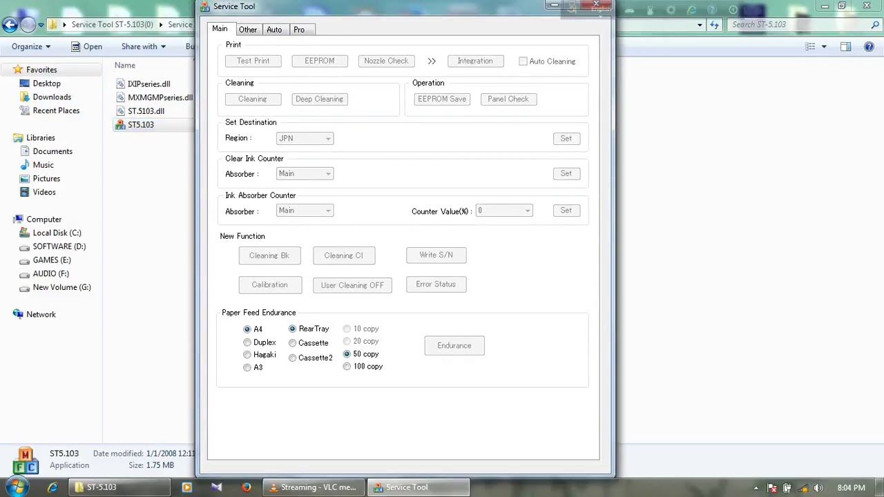 Canon service tool v3900 free download | Canon Service Tool