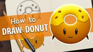 How to Draw a Donut in Photoshop - Quick and Easy