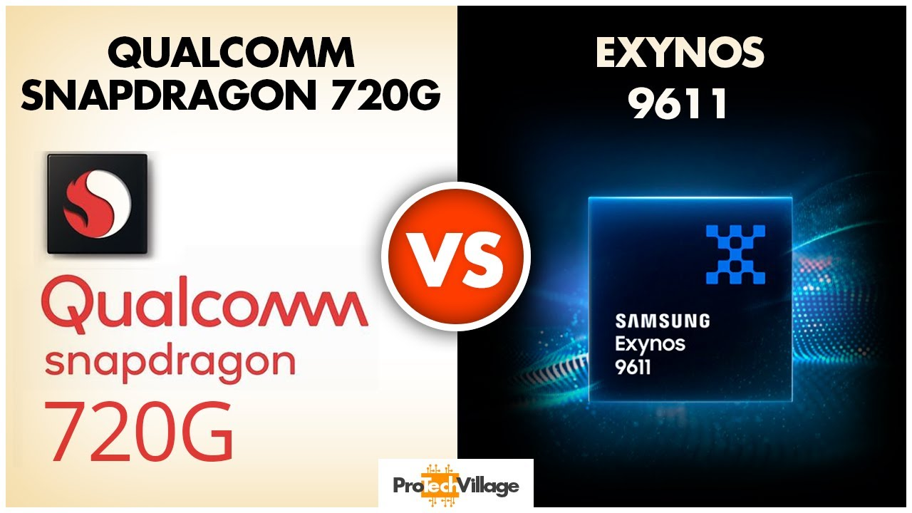 Samsung Exynos 9611 vs Snapdragon 720G ? | Which is better? | Snapdragon 720G vs Exynos 9611?? - YouTube