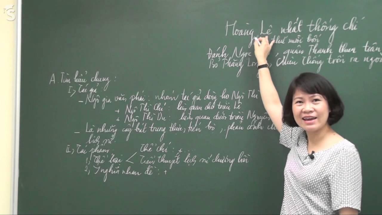 Hoàng Lê nhất thống chí – Hồi 14 – Tiết 1 – Cô Nguyễn Thu Hòa