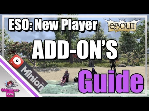 ESO Addons Guide:  How to Install Addons / Minion Guide