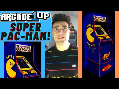 ARCADE1UP SUPER PAC-MAN CABINET from Brick Rod