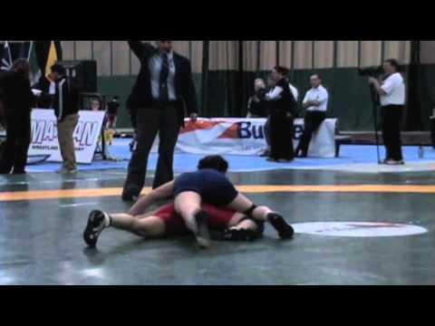 2009 Senior National Championships: 55 kg Coralynn Shepard vs. Lesley McCallum