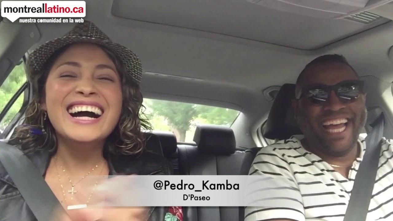 De Paseo con Vilma Avila y Pedro Kamba