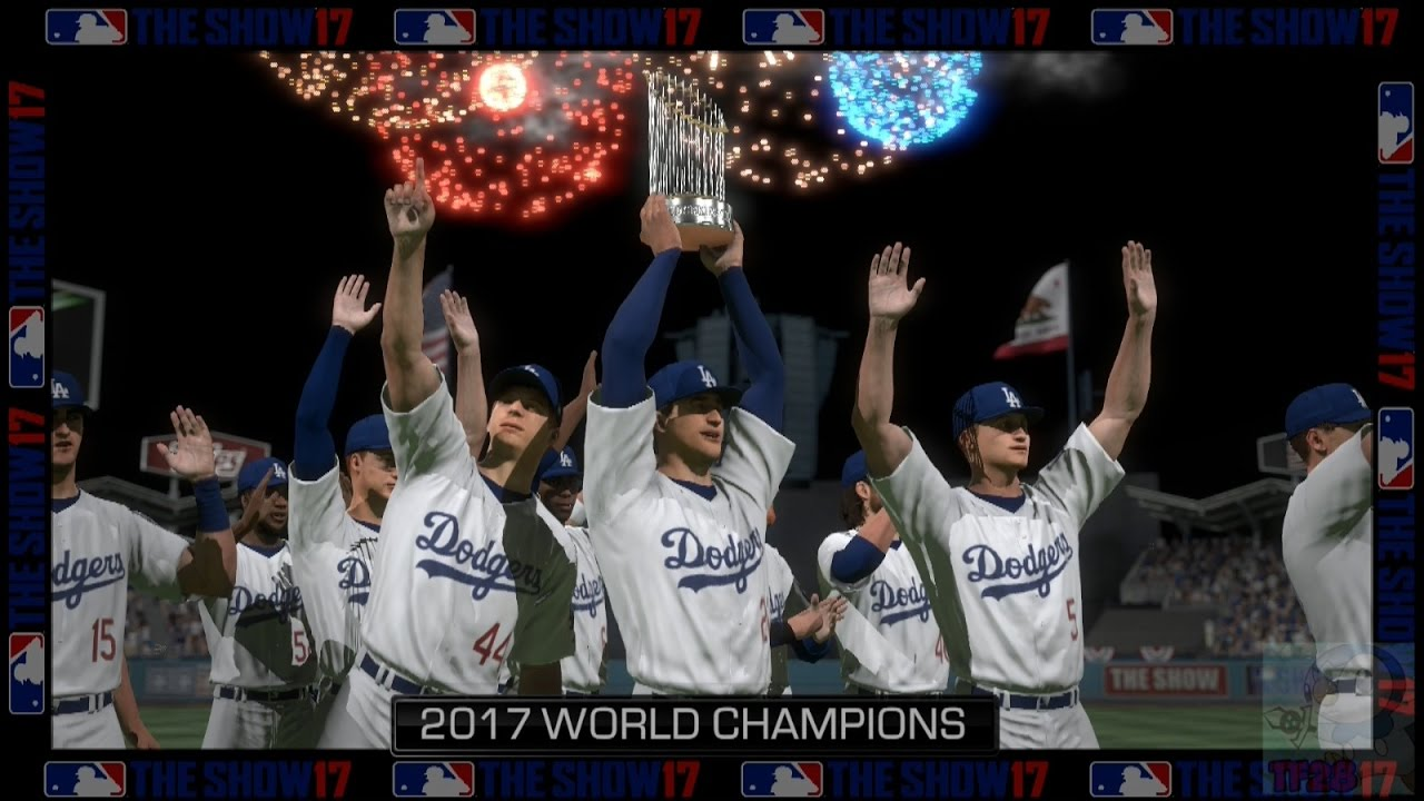 3dda5d7ceee MLB  The Show 17 - Los Angeles Dodgers World Series Celebration ...