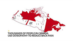 Osteopathy can help with Back pain Quebec EN