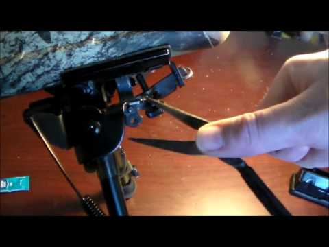 SAVAGE AXIS XP 3006 BIPOD AND SLING INSTALL