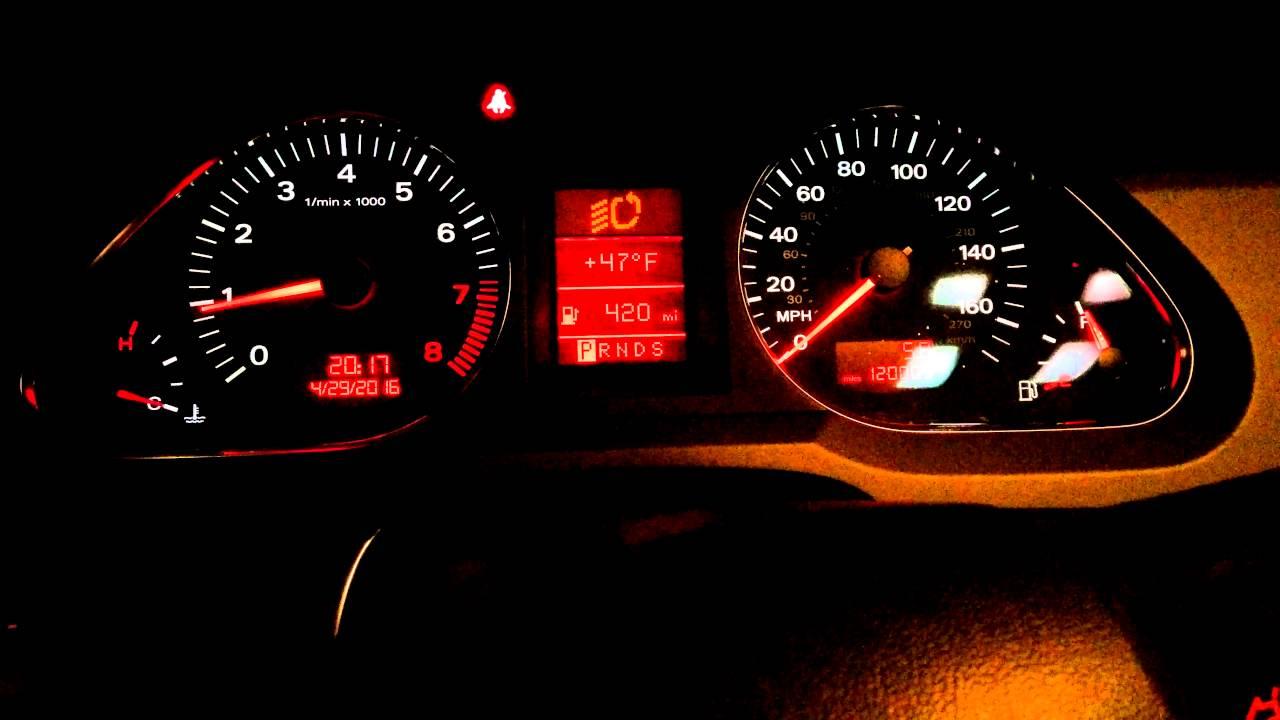 Audi A6 fuel pump problems - YouTube