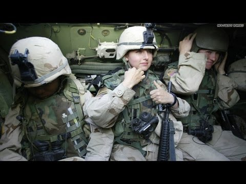 From her combat boots: Women in war zones