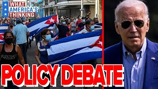 Biden looks to REVIEW Cuba policies following the HISTORIC protests amid shortages