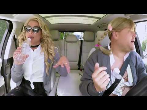 Britney Spears singing LIVE at Carpool Karaoke