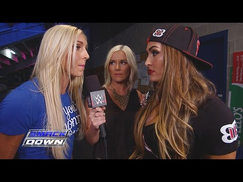 Charlotte interrupts Divas Champion Nikki Bella: SmackDown, September 10, 2015