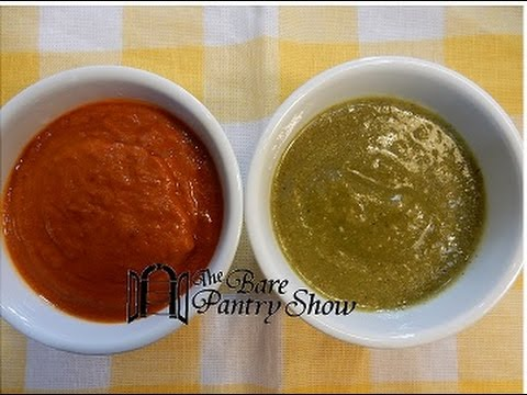 How To Make Green/Salsa Verde And Red/Salsa Roja