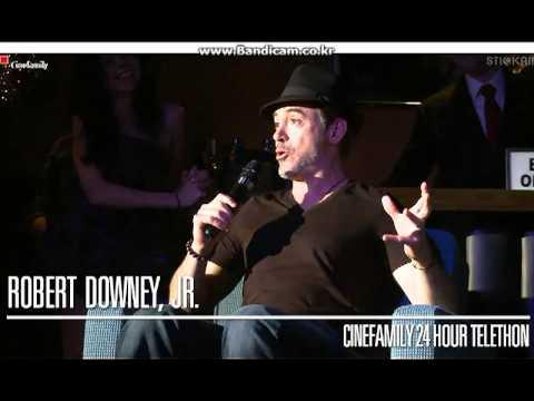 121215   Robert Downey Jr Cinefamily telethon
