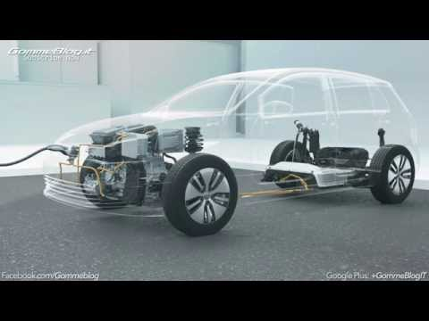 Volkswagen Electric Mobility: Animation Hybrid Drive