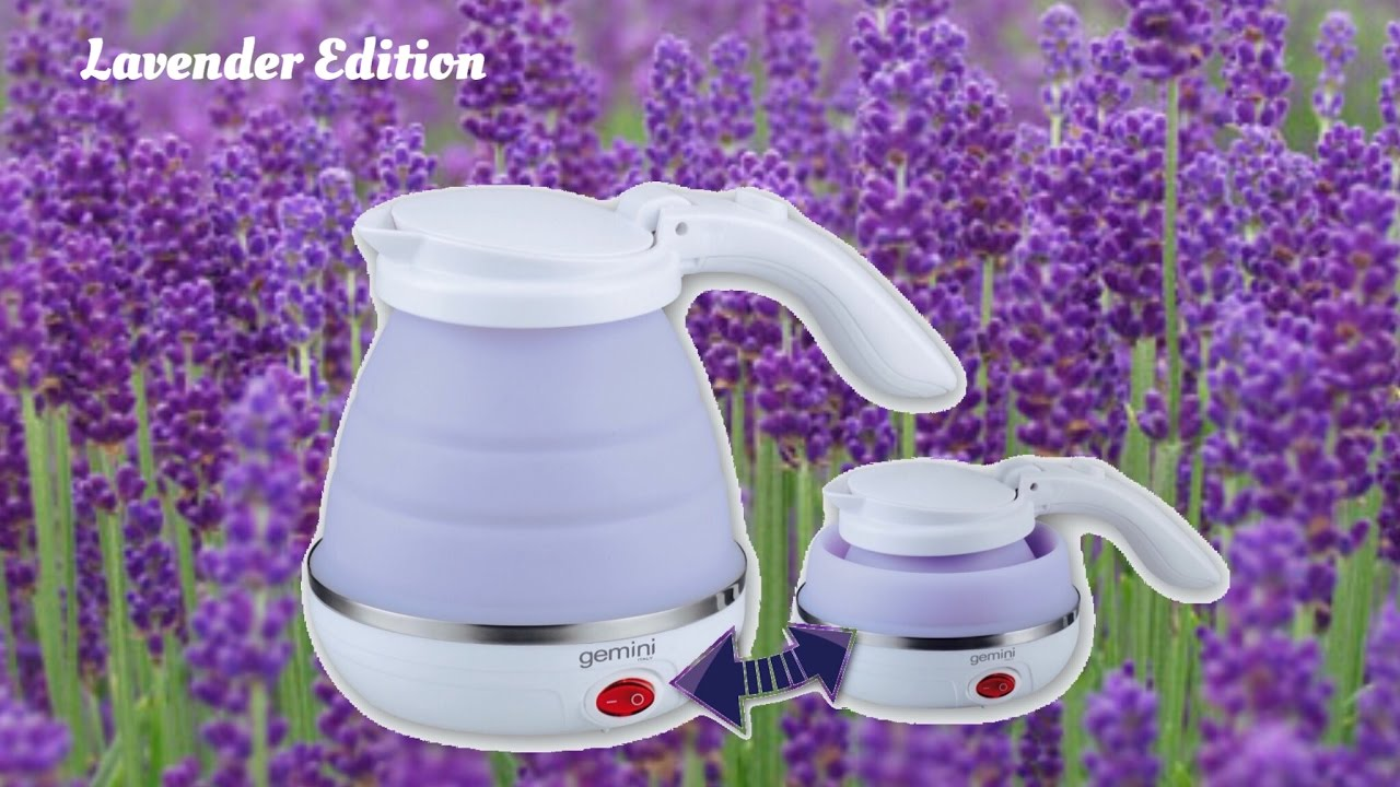 Gemini 0.5L Foldable Travel Kettle (Limited Lavender Edition)