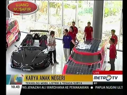 MOBIL LISTRIK TENAGA MATAHARI KARYA ANAK INDONESIA (INDONESIA CHILD CAR MAKE SOLAR POWER)