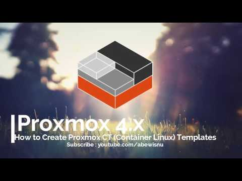 How to create proxmox ct container linux template youtube how to create proxmox ct container linux template reheart Images