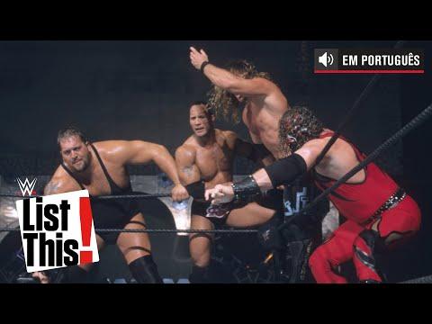 As melhores equipes de Survivor Series: WWE List This! (PORTUGUES)
