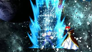 Vegeta Legend TTA My Edit Super Saiyan Blue full power
