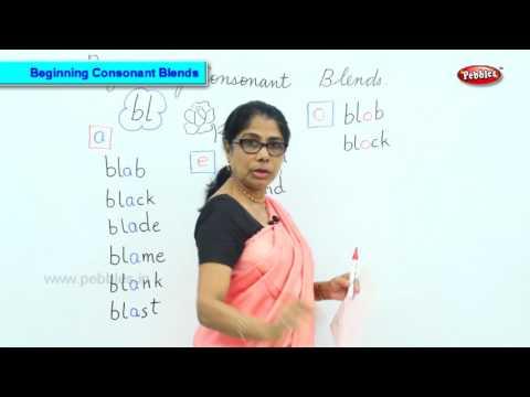 Beginning Consonant Blends | Learn Phonics For Kids | Vowel Blends | Vowels For Kids