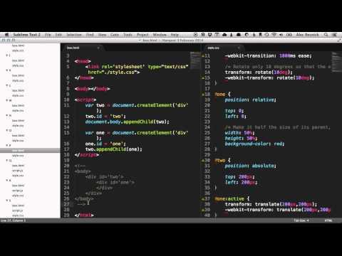 HTML CSS JS Hangout 1