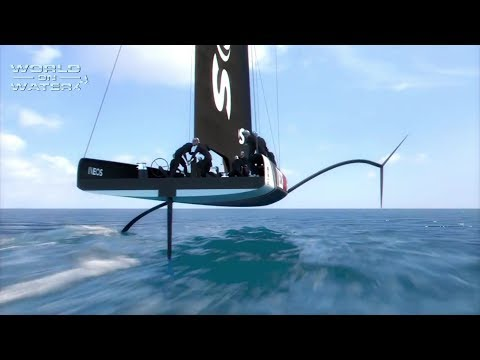 """World on Water TV"" May 04 18 Sailing News INEOS Team GB, Clouds-Steak-Winches, Sailing Report"