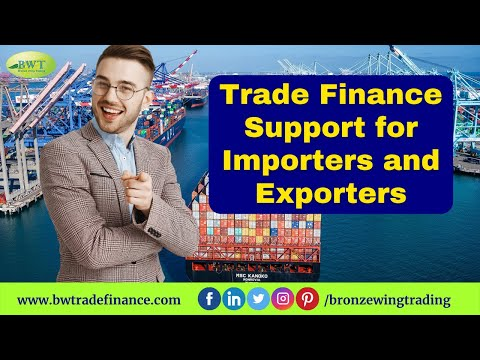Trade Finance Services for Importers & Exporters | Bronze Wing Trading L.L.C.
