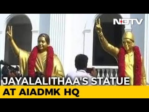 J Jayalalithaa's New Statue Replaces The One That Barely Looked Like Her