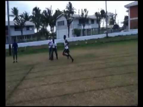 Central High School Guyana Sports 2012- 400M Boys Under 16