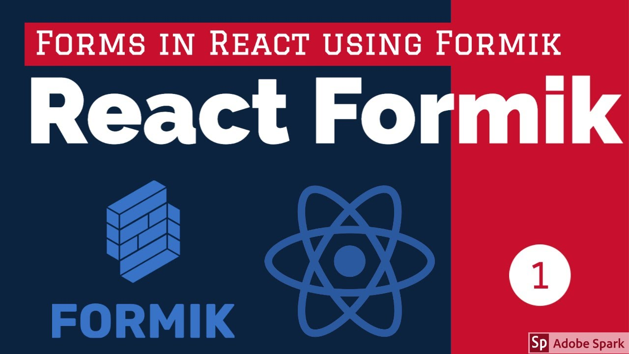 React Formik Writing Form without Tears #intro
